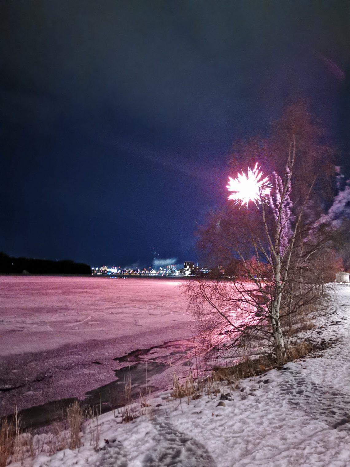 nyår raketer